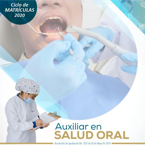 Auxiliar en Salud Oral Escapereira 2020