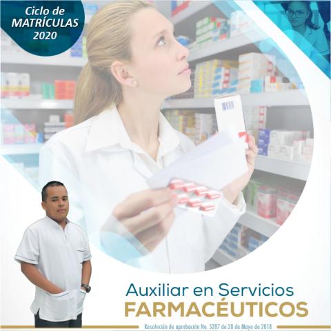 Auxiliar en Servicios Farmacéuticos Escapereira 2020